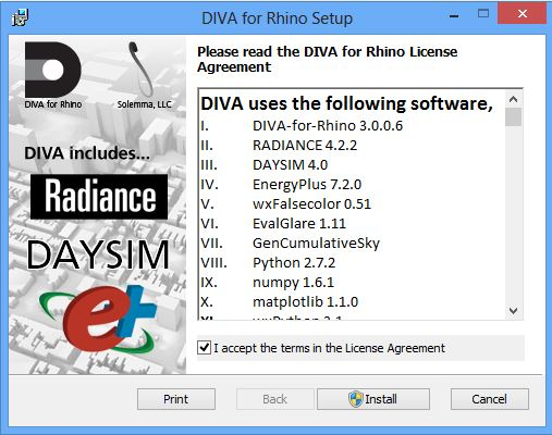 DIVA for Rhino: Installation Instructions | Energy-Models com