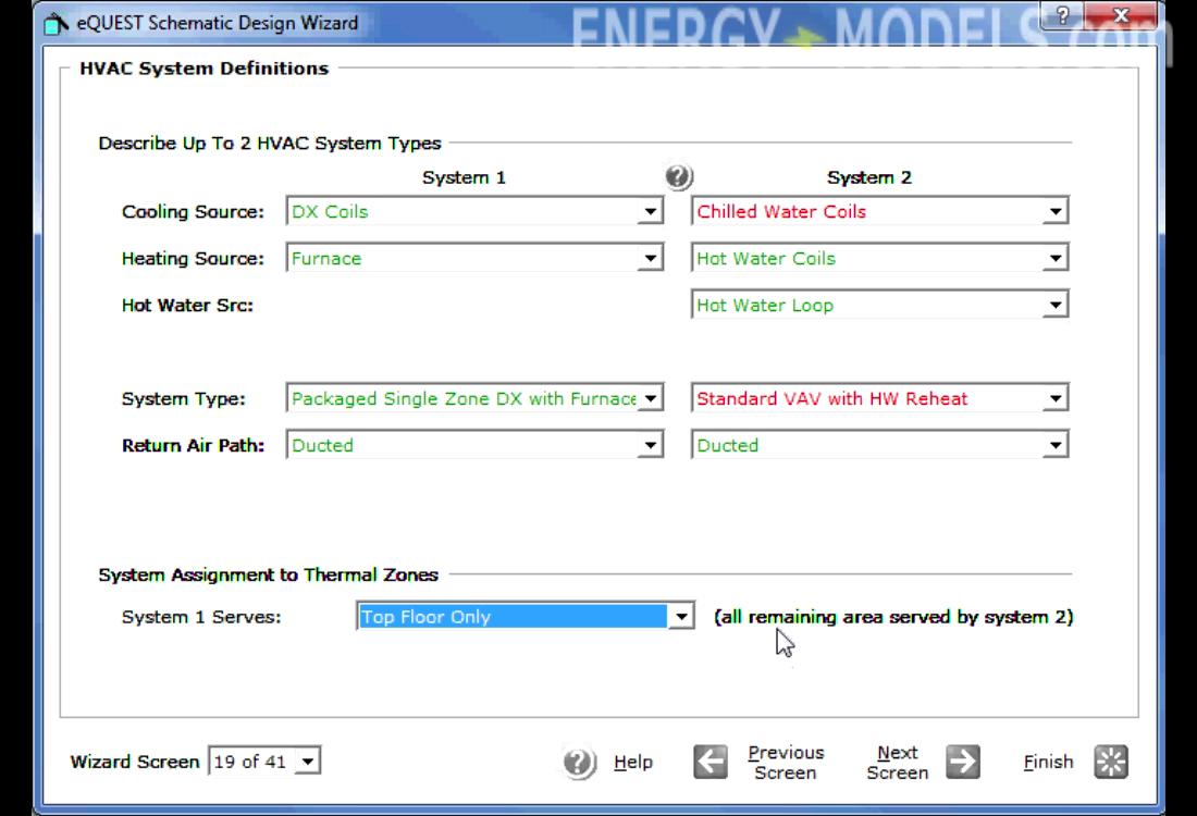 Equest Schematic Design Wizard Energy Models Com