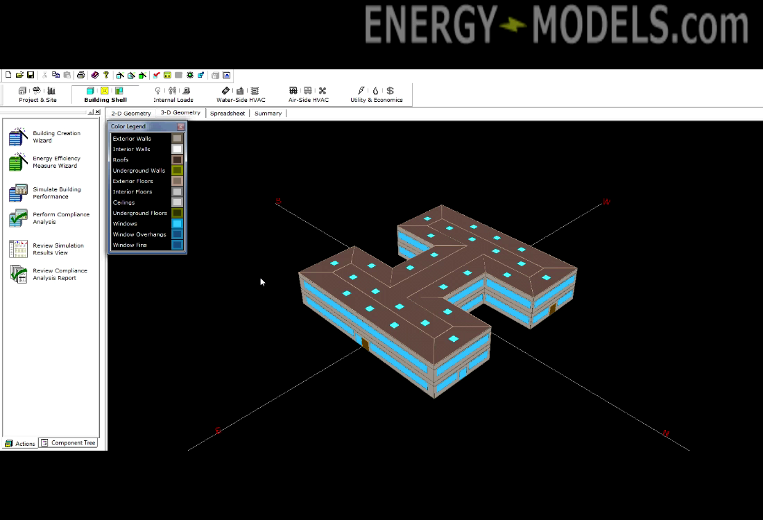 Equest Schematic Design Wizard Energy Models Com