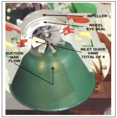 Centrifugal chiller fundamentals energy models figure 10 shows a cutaway of a mcquay distinction series compressor front end and the inlet guide vanes can be seen cheapraybanclubmaster Choice Image